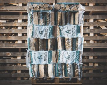 kiln-dried firewood 70 bags